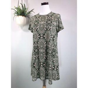 Show Me Your Mumu Em Mini Dress Olive You Spandy
